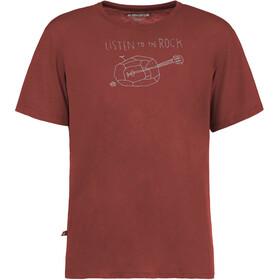E9 Guitar - Camiseta manga corta Hombre - rojo